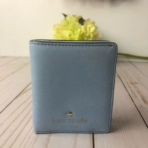 Kate Spade Small Stacy wallet Billfold Leather